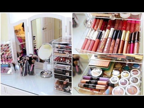Makeup Collection Storage & Organization 2016