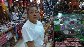 Обзорна экскурсия сувенирная лавка шопинг для славян обзор Китай Дадунхай Санья ВидеоЗапискиМихалыча