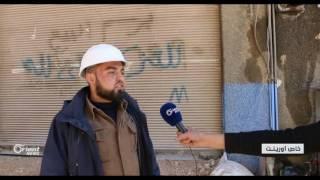 النظام يصعد في حي القابون الدمشقي ويقصفه بالصواريخ