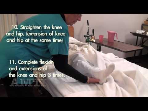 CNA Skills: Range of Motion Hip & Knee