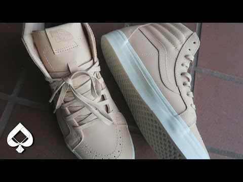 BEST VANS EVER? Sk8-Hi Vachetta/Vegetable Tan On-Feet Review