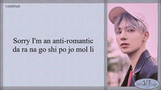 TXT (투모로우바이투게더) – Anti Romantic (Easy Lyrics)