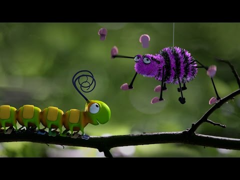 Thumbnail: Caterpillar Shoes - Fun Insect Animation - Kids' Bedtime Story - Nursery Rhyme