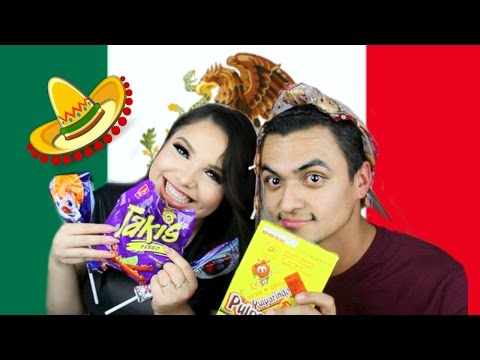 Mexicans Try Mexican Candy!