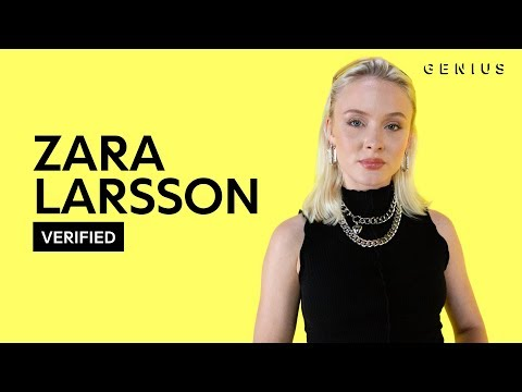 """Zara Larsson """"All The Time"""" Official Lyrics & Meaning 