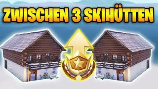 Fortnite: Search between 3 ski huts - Exact Battlestern Location Season 7 Week 3
