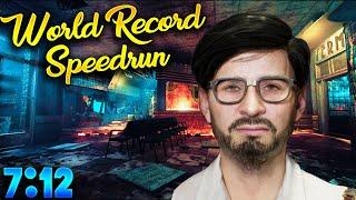 4P Tranzit Easter Egg Speedrun World Record (Maxis No Bank) 7:12