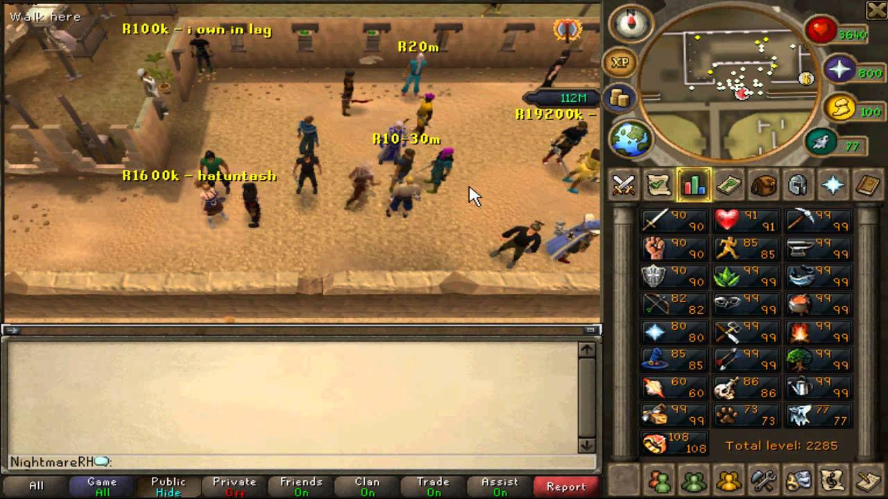 THE BEST RUNESCAPE EOC STAKE EVER!!!!!