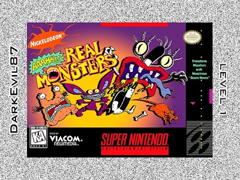 Aaahh!!! Real Monsters (SNES) 1st Level