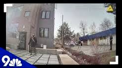 RAW: Bodycam video shows police confront man picking up trash outside building