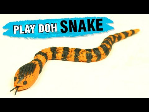 How To Make Play Doh Snake | DIY Ideas Of Making A Snake | Play Doh Ideas For Kids | Easy DIY Crafts