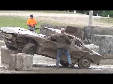 Bump And Run Racing!! Alpena County Fair Grounds!! Alpena Michigan 2016