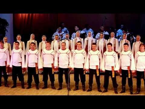 "[HD] Russian Pyatnitsky Choir & ""Bella Ciao"" Italian Partisan Hit"
