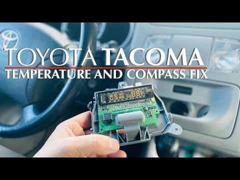 Toyota Tacoma Temperature Display Fix.mov