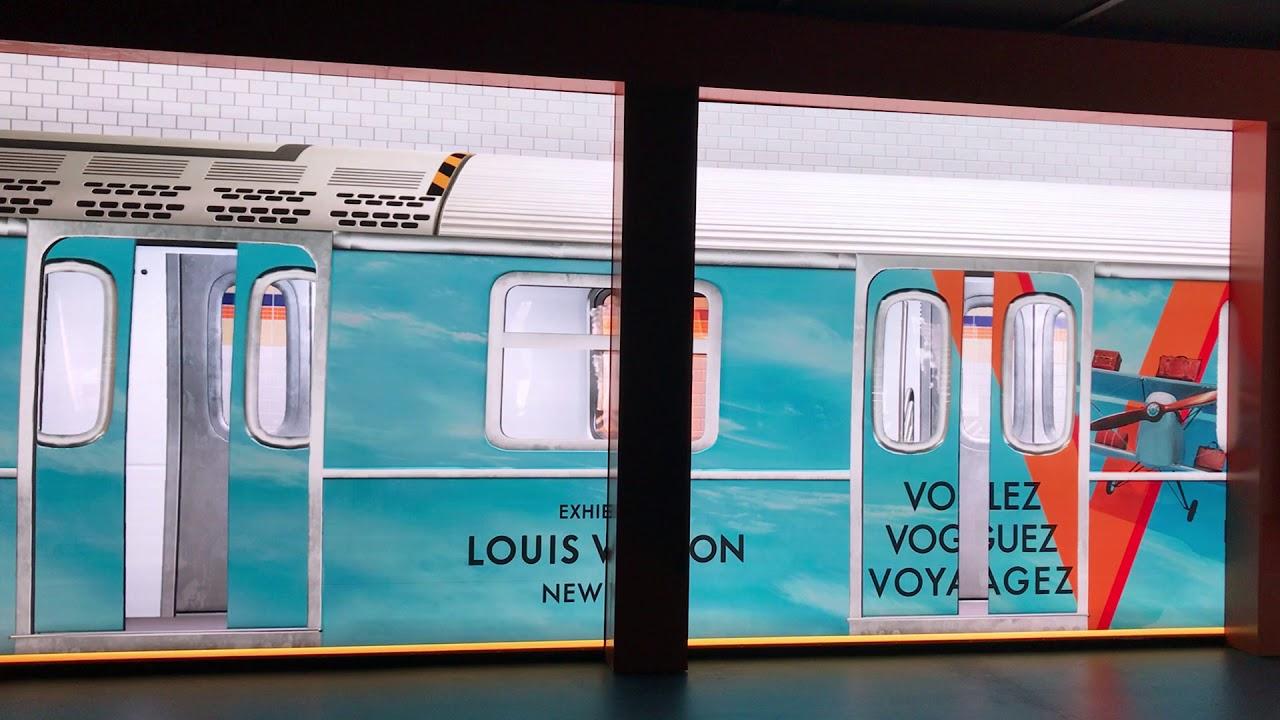 22c7fcd0b411 Louis Vuitton Volez Voguez Voyagez NYC - YouTube