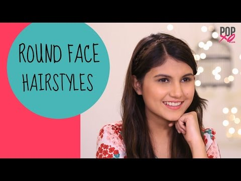 Hairstyles For Round Face Popxo Youtube
