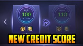 NEW CREDIT SCORE SYSTEM - Mobile Legends