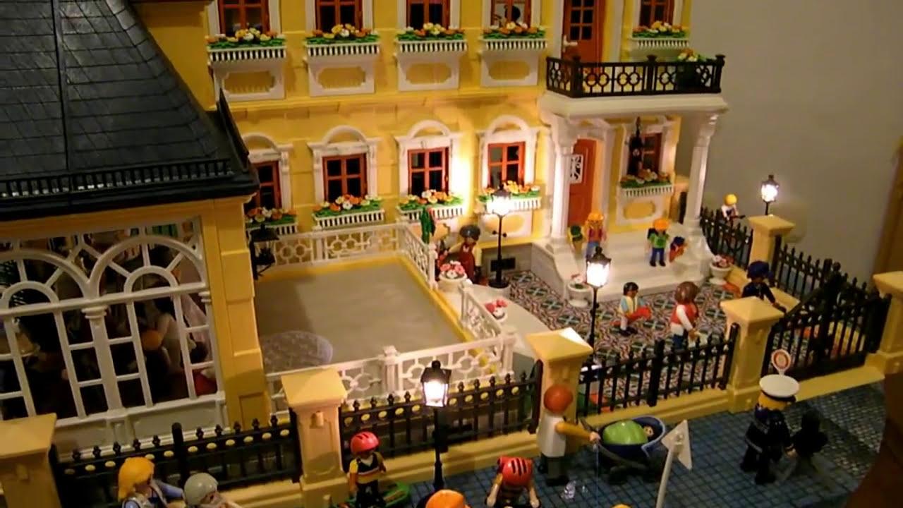 Casa de mu ecas playmobil de mar a l mparas cenador y valla victoriana terminada parte 3 - Playmobil casa de munecas carrefour ...