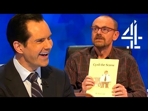 """Sean Lock Has A New Kids Book: """"Cyril The Screw""""   8 Out Of 10 Cats Does Countdown"""