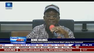 Ortom Blasts Lalong Over Comment On Benue Killings