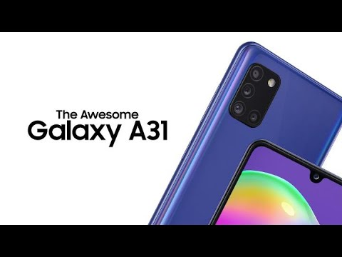 The Awesome Galaxy A31 | Samsung