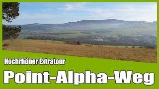 Rhön Wandern: Point-Alpha-Weg HOCHRHÖNER Extratour - Geisa/Rasdorf