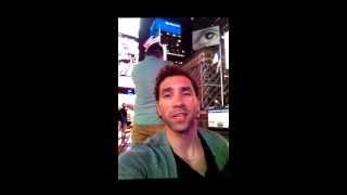 Ariel y Roxy en Times Square / Roxy Bday - Part 2