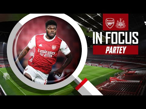 EVERY TOUCH | Thomas Partey | Arsenal vs Newcastle (3-0) | Premier League