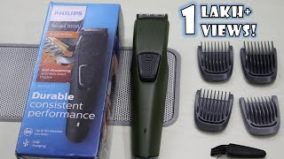 Philips Trimmer Review (BT1215) | Philips Series 1000 Rechargeable Trimmer | Best Trimmer in Rs 899