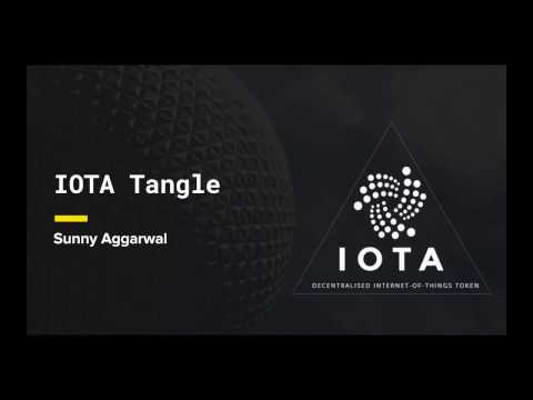 Whitepaper Circle: IOTA Tangle - Presented by Sunny Aggarwal