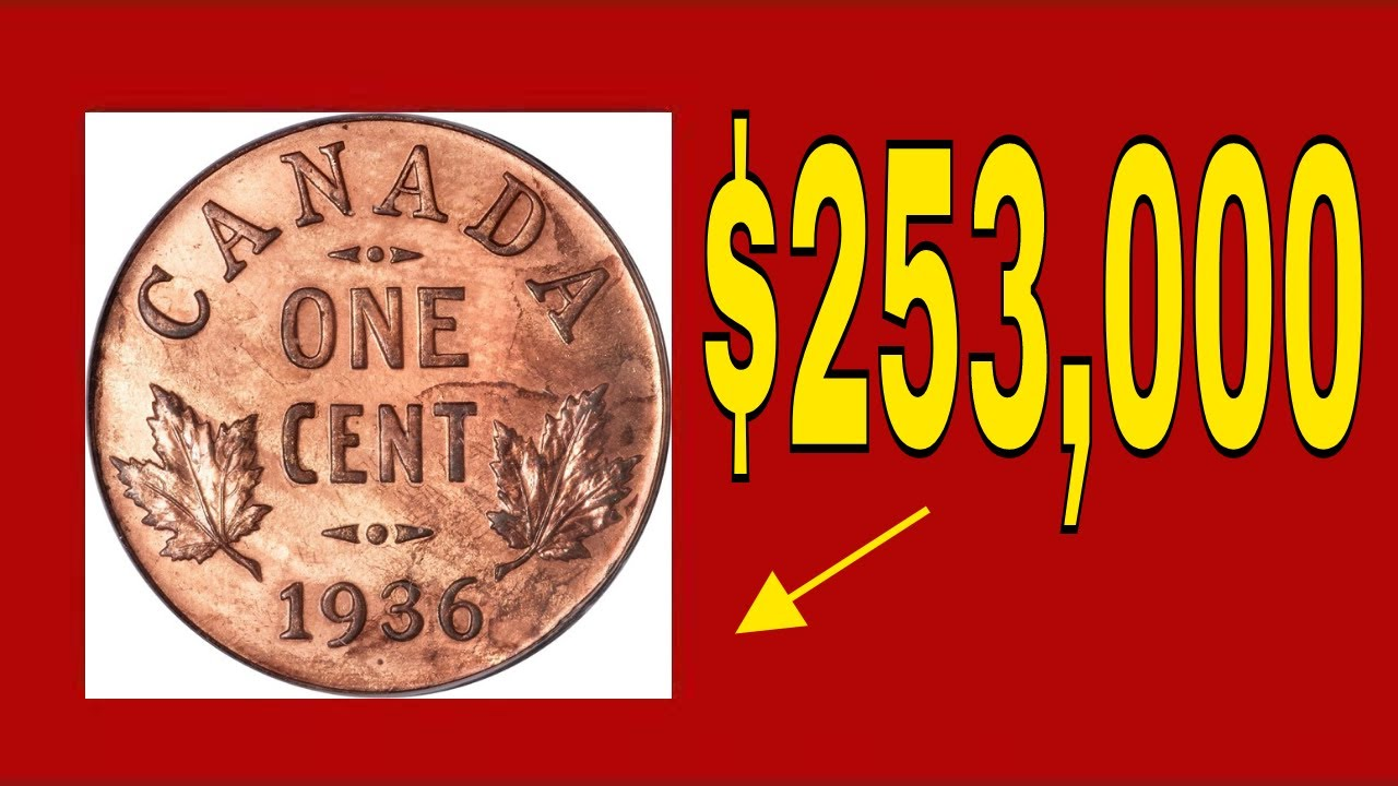 EXTREMELY RARE CANADIAN PENNY WORTH MONEY! VALUABLE CANADIAN COINS TO LOOK  FOR!
