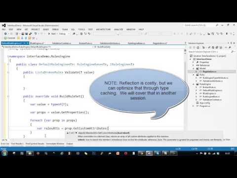 C# Interface Vs. Abstract Class - Building a simple Rule Engine