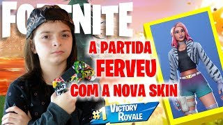 Fortnite-The NEW SKIN SAVAGERY IS AMAZING