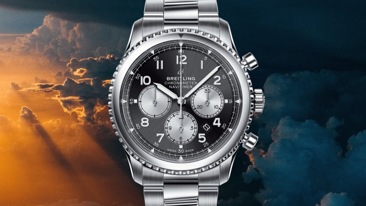 ed75dad24dc Review: Breitling Navitimer 8 B01 Chronograph 43 - YouTube