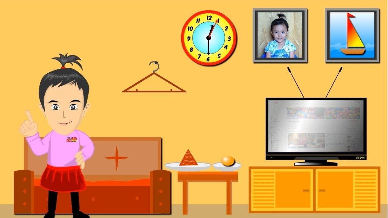 Belajar Mengenal Bentuk Dalam Kehidupan Sehari Hari Learning Shapes Video Cartoon Youtube
