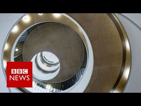 RIBA: Blavatnik School of Government - BBC News