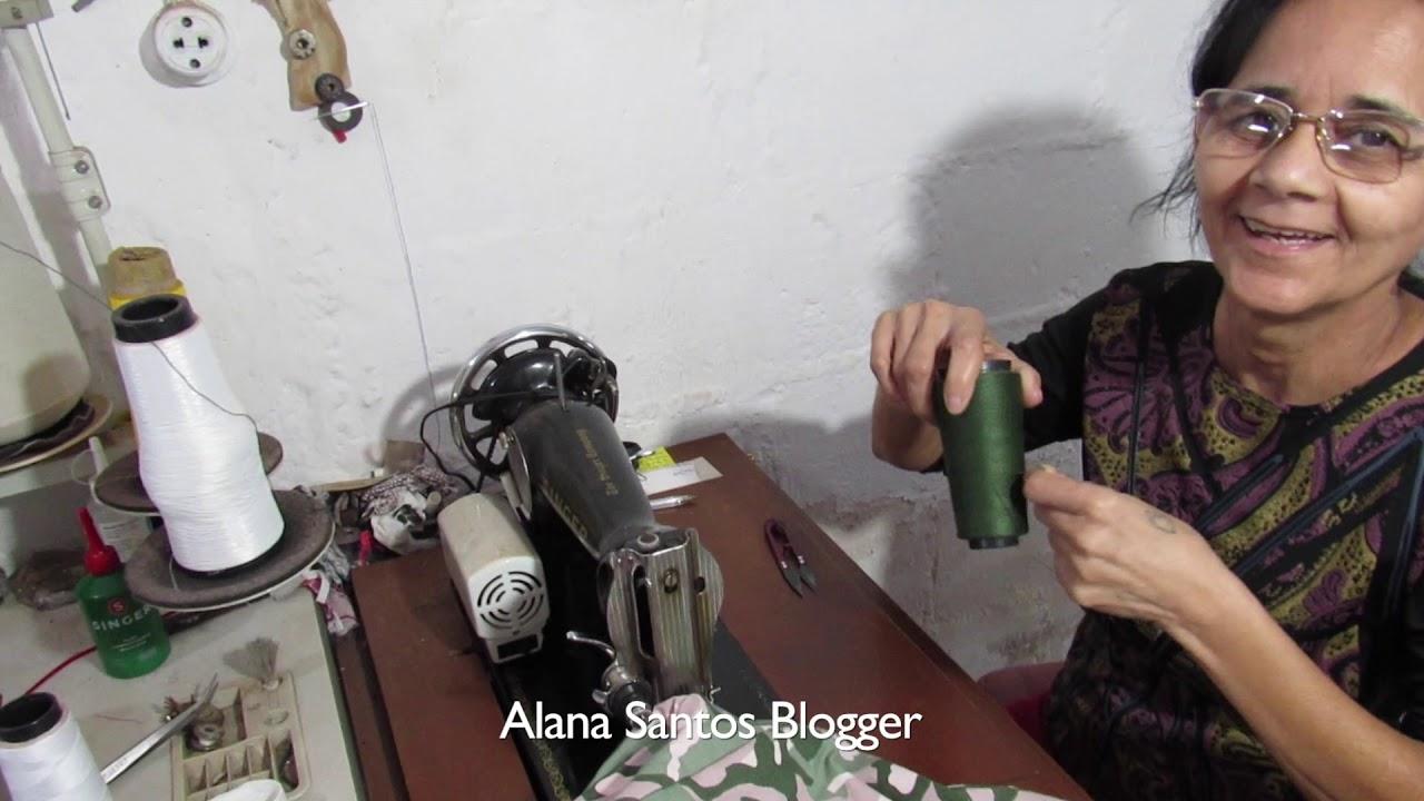 Como costurar luva Alana Santos Blogger