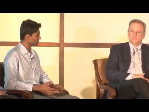 10000 Startups - Eric Schmidt in conversation with Founders of Indian Startups