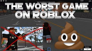 THE WORST GAME ON ROBLOX - WHAT EVEN IS THIS - RobLox Random Gameplay