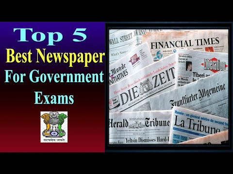 Top 5 Newspapers For Government Exams Preparation | Top Newspaper | #bestnewspaper #topnewspaper