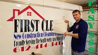 COMMERCIAL VEHICLE GRAPHICS TIPS/TRICKS, us cutter ,oracal vinyl
