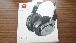 motorola Pulse Max - Unboxing and Review