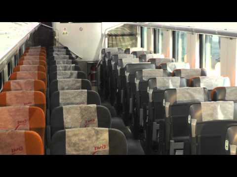 Двухэтажные вагоны с местами для сидения 1-го и 2-го класса