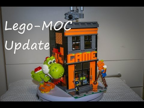 Lego MOC Game(s) / Arcade Update - December 2018 Mp3