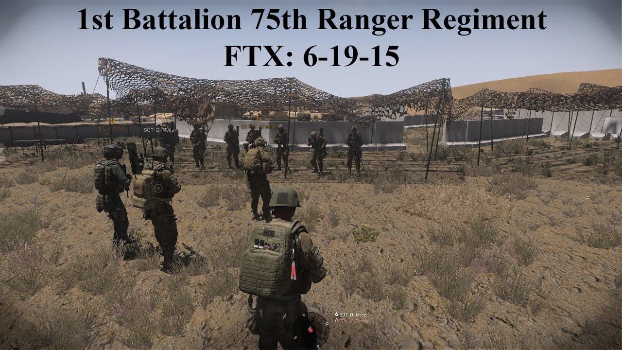 Arma 3 1st Battalion 75th Ranger Regiment FTX 6-19-15 ...  Arma 3 1st Batt...