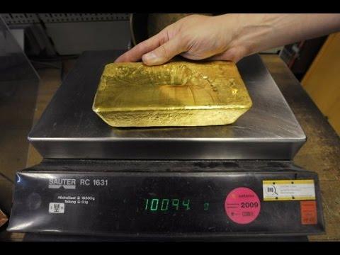 Crushing 10 Kg Of Gold 24 Karat