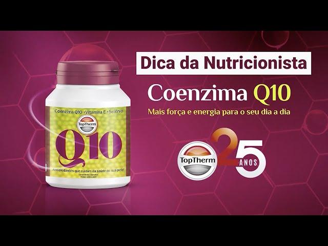 CONHEÇA OS BENEFÍCIOS DA COENZIMA Q10