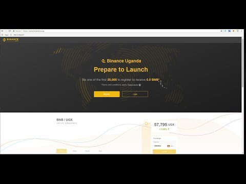 BINANCE UGANDA | The First Fiat Crypto Exchange | Registration Is Now Open!!