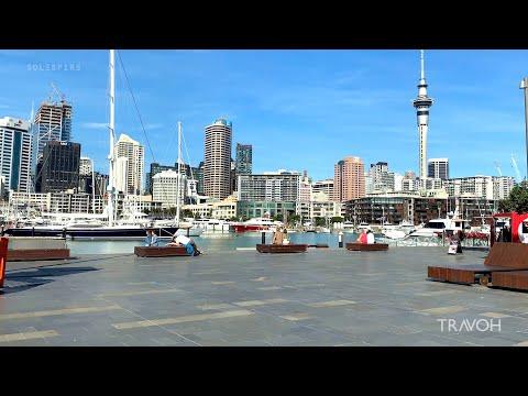 Exploring Auckland New Zealand - City Lifestyle Walking Tour - 🇳🇿 4K Travel