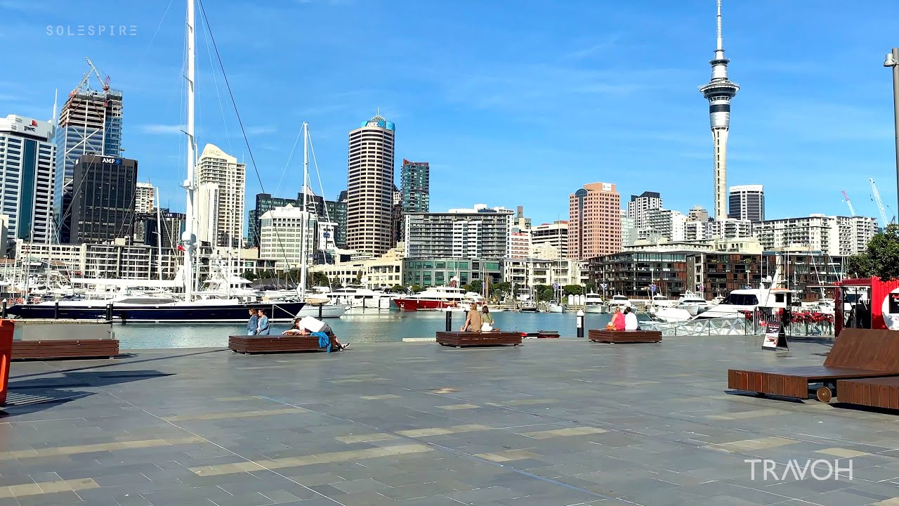 Exploring | Auckland | New Zealand | City Lifestyle Walking Tour | ?? 4K Travel